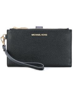 клатч с застежкой-защелкой Michael Michael Kors
