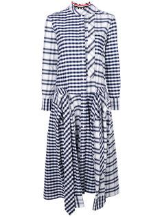 клетчатое платье Thom Browne x Colette Thom Browne