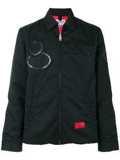 куртка на молнии с заплатками Carhartt