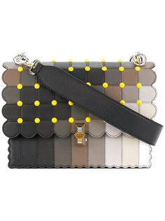 декорированная сумка-тоут Kan I Fendi