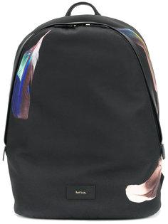 рюкзак с принтом перьев Paul Smith