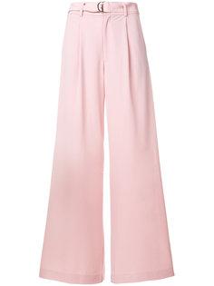 брюки-палаццо с поясом  Jovonna