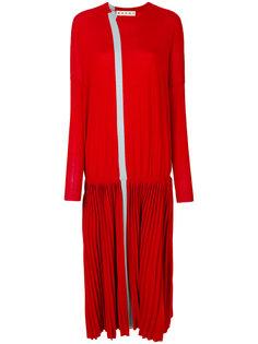 платье с плиссировкой Marni