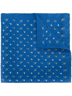 карманный платок с мелким принтом Lanvin