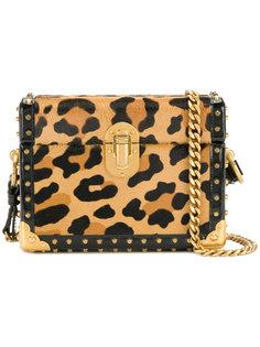 сумка через плечо с леопардовым принтом Prada