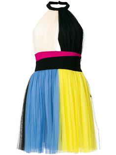 мини-платье с панельным дизайном Fausto Puglisi