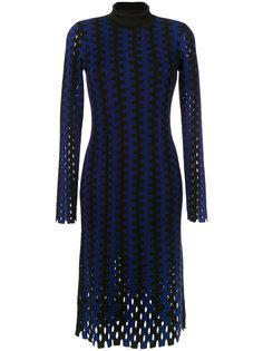 трикотажное платье в полоску Dvf Diane Von Furstenberg