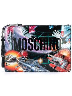 клатч Transformer Moschino