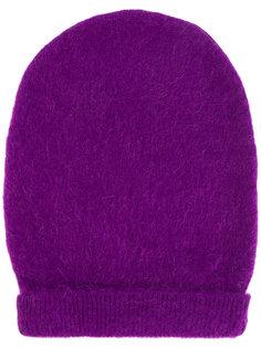 шапка ребристой вязки Mm6 Maison Margiela