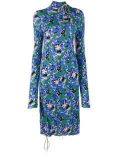 асимметричное платье миди Marni