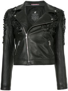 укороченная байкерская куртка Loveless