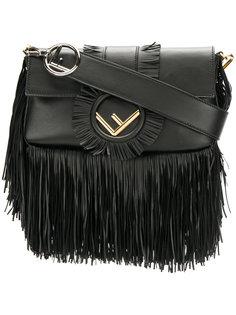 сумка на плечо Baguette с бахромой Fendi