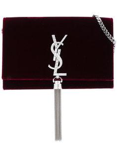кошелек Kate на цепочке с кисточкой Saint Laurent