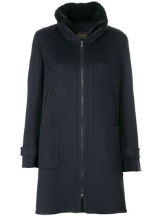 пальто с норковой отделкой Loro Piana