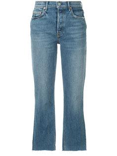 прямые укороченные джинсы Helena Grlfrnd