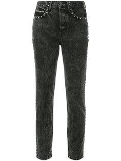 джинсы скинни с заклепками Grlfrnd