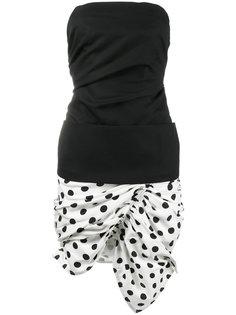платье без бретелек La Robe Gitan Jacquemus