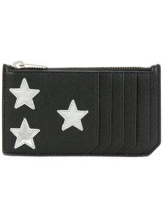 кошелек на молнии Star Saint Laurent