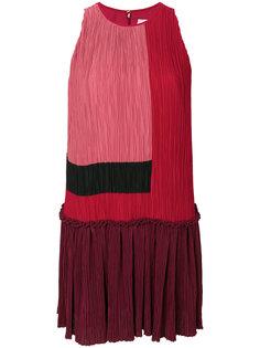 платье дизайна колор-блок Roksanda