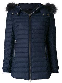 куртка-пуховик Primula на молнии с мехом енота Tatras