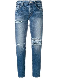 зауженные джинсы MV Ideal Moussy