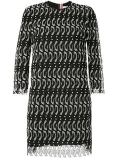 кружевное платье Thom Browne