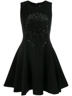 платье мини с нашивкой Philipp Plein