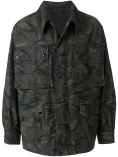 камуфляжная куртка карго Tom Ford