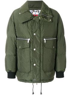пальто-пуховик с карманами карго Dsquared2