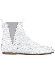 ботинки с пайетками Loewe