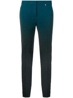 строгие брюки с эффектом градиента  Versace