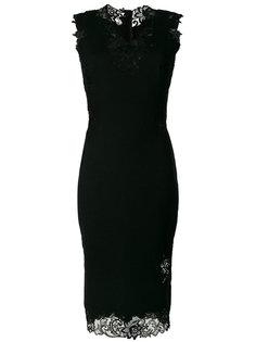 платье без рукавов с кружевной отделкой Ermanno Scervino