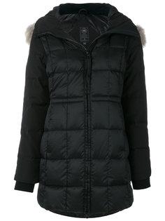 куртка-пуховик с меховым воротником Canada Goose