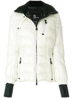 куртка-пуховик с отделкой в рубчик Moncler Grenoble