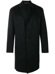 пальто с лацканами Theory