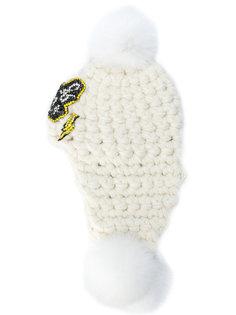 шапка Mamie с помпонами Philipp Plein