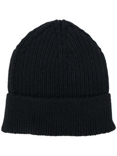 шапка ребристой вязки Stephan Schneider