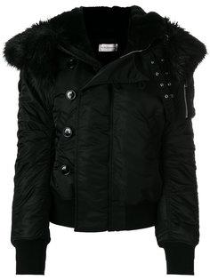 куртка с искусственным мехом и капюшоном  Faith Connexion