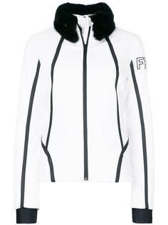приталенная куртка из меха норки с отделкой  Fendi
