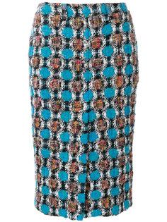 твидовая юбка  Marni