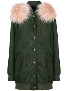 пальто миди с капюшоном Mr & Mrs Italy