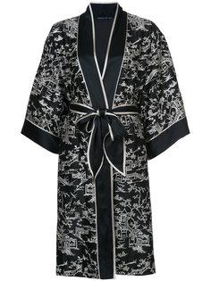 халат с запахом Pagoda Natori