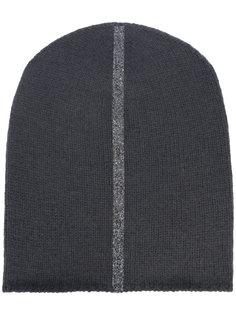 шапка с контрастной полоской Warm-Me
