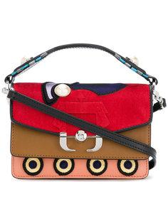 сумка на плечо дизайна колор-блок Paula Cademartori