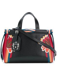 сумка-тоут с отделкой в полоску Paula Cademartori