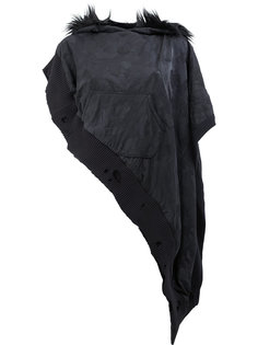 худи с фактурным камуфляжным принтом Greg Lauren