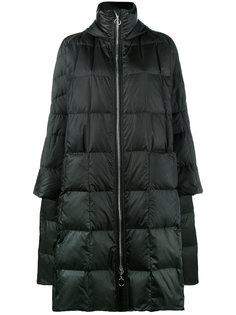 дутое пальто с капюшоном Pyramide Ienki Ienki