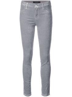 mid-rise skinny jeans  J Brand