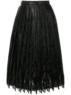 плиссированная юбка-миди Marco De Vincenzo