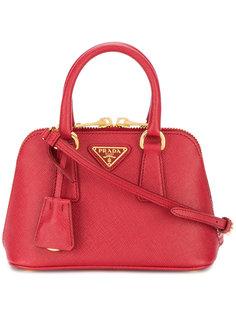 мини сумка-тоут с логотипом Prada